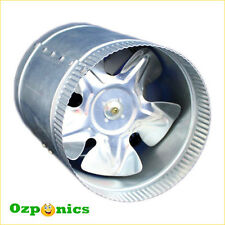 "INLINE DUCT VENTILATING EXHAUST FAN 10""/250MM 55W METAL HOUSING METAL BLADES"