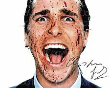 American Psycho signed Christian Bale 8X10 photo picture autograph poster RP