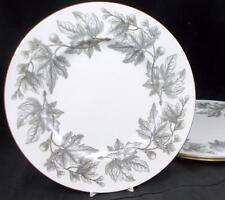 Wedgwood ASHFORD GREY 3 Dinner Plates Bone China W4106 GOOD CONDITION