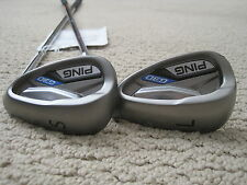 NEW! PING G30 BLACK DOT 54* SAND & 58* LOB WEDGE SET PING CFS REGULAR FLEX