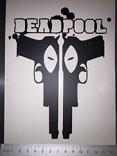 Vinyl Car/Bike/Laptop/Window/Windscreen/Adhesive/Body Deadpool graphic/decal