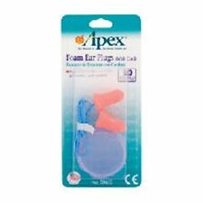 Apex Ear Plugs Foam With Cord 1 pr