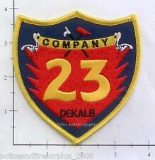 Georgia - Dekalb County Company 23 GA Fire Dept Patch