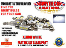 VW GOLF MK 4 INTERIOR XENON WHITE LED FRONT/REAR CENTRE DOME &MAP LIGHTS UPGRADE