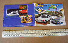 1978 Dinky Die-Cast Toy Catalogue #14. Star Trek, Space 1999, UFO, Thunderbirds