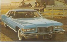 Cadillac Eldorado Coupe for 1976 original USA issued Postcard