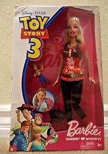 BARBIE LOVES WOODY TOY STORY 3 DOLL R9295 2009 *NU*