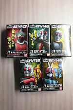 Kamen Rider VS SHODO 4 series Figure 5 Kinds (1+2+Black RX+Amzon+Shocker)