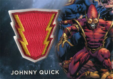 DC Comics Super-Villains Replica Patch Costume Card E02 of Johnny Quick