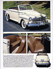 1947 Mercury + Convertible Article - Must See !!