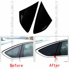 2pcs Rear Door Window Triangular Trim Cover For Ford Fusion Mondeo 2013-2016