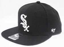 47 BRAND CHICAGO WHITE SOX VINTAGE  TUPAC POETIC BLACK  SNAPBACK HATS CAP