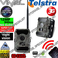 Wireless Security Camera 3G GSM Trail Hunting Scouting Remove View No Spy Hidden