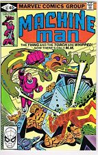 MACHINE MAN #15 THING & TORCH APP MARVEL COMICS BRONZE 1980 VF/NM UNREAD KIRBY