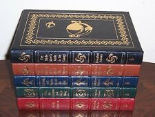 Easton Press Signed The Hitchhiker's Guide to the Galaxy in 5 vols Douglas Adams