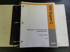 Case 580 Super L Construction King Loader Backhoe Parts Catalog   8-9930