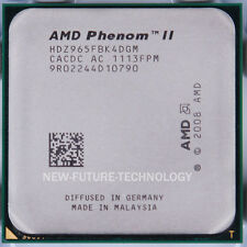 AMD Phenom II X4 965 Black Edition 2000 MHz 3.4 GHz 2MB Socket AM3 CPU 100% Work