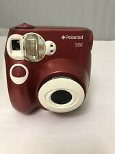 Polaroid Pic-300 Instant Print Camera (Red)
