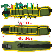 Tool Belt Pocket Pouch Storage Bag Carpenter Electrician Contractor Waist Bag