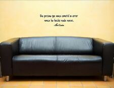 Una Persona Que Nunca Cometio-Spanish Quote Me Vinyl Wall Sticker #1039