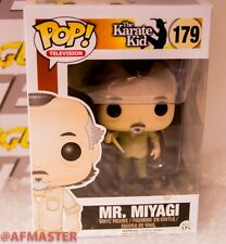 FUNKO Pop! The Karate Kid: Mr Miyagi Vinyl Figure #179