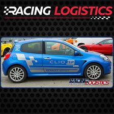 Porte Stickers Autocollant Vinyl RENAULT SPORT RS MK3 Clio Cup Racing