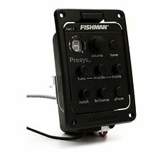 Fishman Presys 201 Guitar Onboard Preamp EQ 4 Band Tuner Piezo Pickup Equalizer