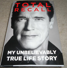 ARNOLD SCHWARZENEGGER signed autographed book TOTAL RECALL (TERMINATOR)