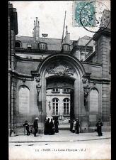 """PARIS I° Arrt / BANQUE """"CAISSE D'EPARGNE"""" animée en 1905"""