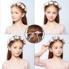 Womens Kids Girls Boho Flower Floral Hairband Headband Crown Party Wedding Beach