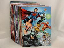 DC NEW 52 TRADING CARD COMPLETE BASE SET 1-61/CHECKLIST