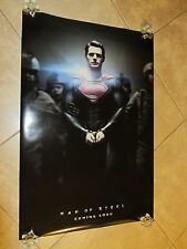 MAN OF STEEL movie poster HENRY CAVILL International one sheet B - SUPERMAN