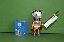Playmobil 5284 figures boys serie 4 indios jefe indio Western