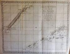 NEW CALEDONIA, carta  nautica original  de Cook & Benard 1778