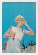 Lebanon 1960s Advert. Photo Pc Fruits of Lebanon Pin-Up Sexy Lady w/Camera