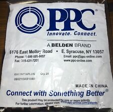 BRAND NEW 100 BELDEN PPC EX11N716PLUS EX11 RG11 COMPRESSION CONNECTORS FITTINGS
