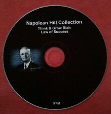 NAPOLEAN HILL THINK AND GROW RICH LAW OF SUCCESS CD AUDIO PDF BOOK eBOOK DIGITAL