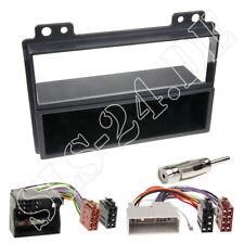 Ford Fiesta JH1 Fusion 1-DIN Radio Blende Einbaurahmen+Fach ISO Adapterkabel Set