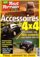 REVUE 4X4 TOUT TERRAIN MAGAZINE HORS SERIE 10/11 2001 ACCESSOIRES 4X4 CONSEILS