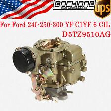 New Carburetor YF Type Carter For 1975-82 Ford 250 300 Engine 6 Cylinder Vacuum