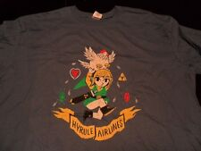 2X- NWOT The Yetee Hyrule Airlines Limited Edition T- Shirt