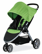 Britax 2017 B-Agile 3 Stroller in Meadow Brand New! Free Shipping! Free Tray!!