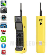 New Classic Old Vintage Brick CellPhone Retro Mobile Phone w/ Camera Dual SIM