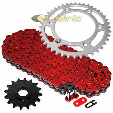 Red O-Ring Drive Chain & Sprockets Kit Fits KTM 690 SMR SMC 2008-2017