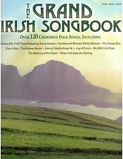 Grand Irish Songbook Piano Sheet Music for St Patrick's Day Lyrics Guitar Chords