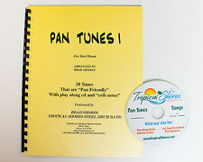 "Steel Drum Play Along Book ""Pan tunes 1"""