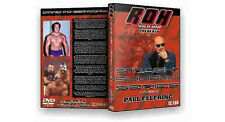 Official ROH Ring of Honor Straight Shootin' with Paul Ellering DVD (Pre-Owned)