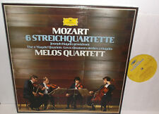2740 249 Mozart The 6 Haydn Quartets The Melos Quartett 3LP Box Set