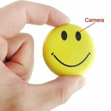 Smile Face Spy Cámara Mini DVR Video Recorder Hidden Camcorder Covert Camera DV