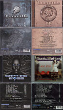4 CD AOR, 2x Lionville (I + II) + SONIC STAZIONE-NEXT Stop + Theander Expression